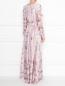 Платье-макси с цветочным узором Max Mara  –  МодельВерхНиз1