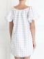 Платье-мини с узором Au Jour Le Jour  –  Модель Верх-Низ1