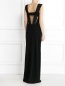 Платье-макси с вырезом Jean Paul Gaultier  –  Модель Верх-Низ1