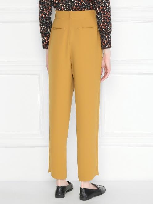 Укороченные брюки с карманами  - МодельВерхНиз1
