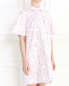Платье-мини с коротким рукавом Petit Jete  –  Модель Верх-Низ