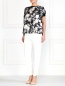 Укороченные брюки с боковыми карманами Moncler  –  Модель Общий вид