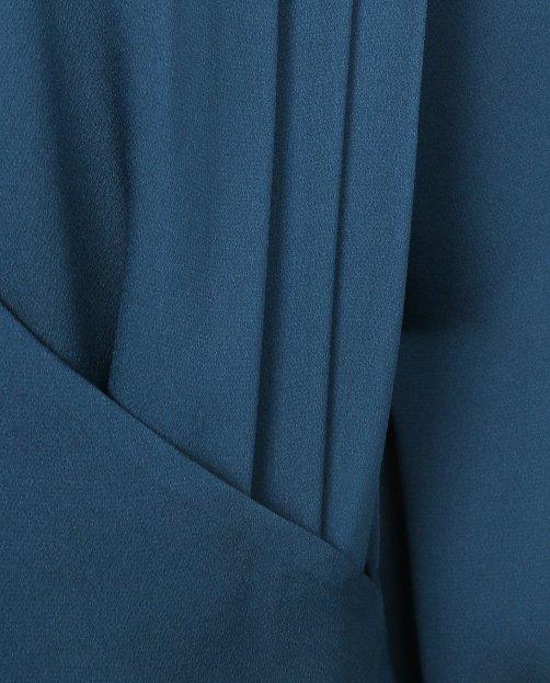 Блуза с запахом - Общий вид