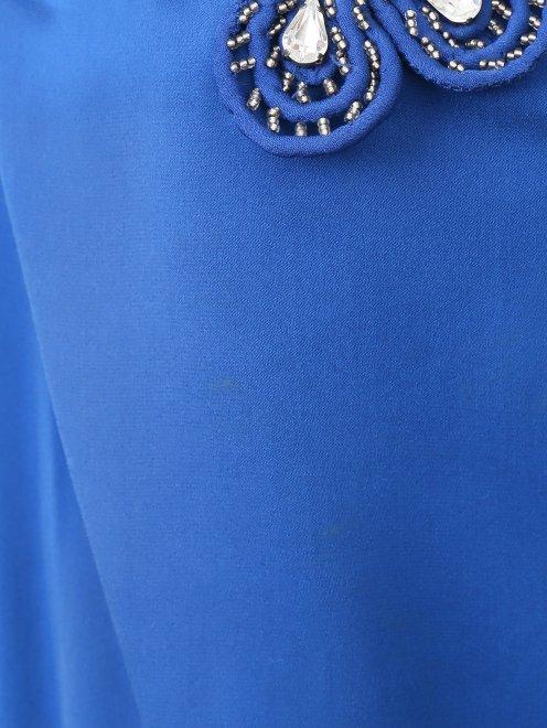Платье-макси из шелка  - Деталь1