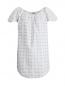 Платье-мини с узором Au Jour Le Jour  –  Общий вид