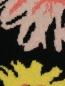 Трикотажные брюки из шерсти с цветочным узором Moschino Cheap&Chic  –  Деталь1