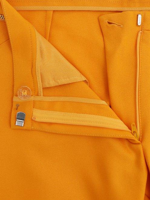 Укороченные брюки из хлопка и нейлона  - Деталь1