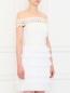 Платье из шелка с плиссировкой и кружевными вставками Collette Dinnigan  –  Модель Верх-Низ