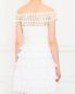Платье из шелка с плиссировкой и кружевными вставками Collette Dinnigan  –  Модель Верх-Низ1