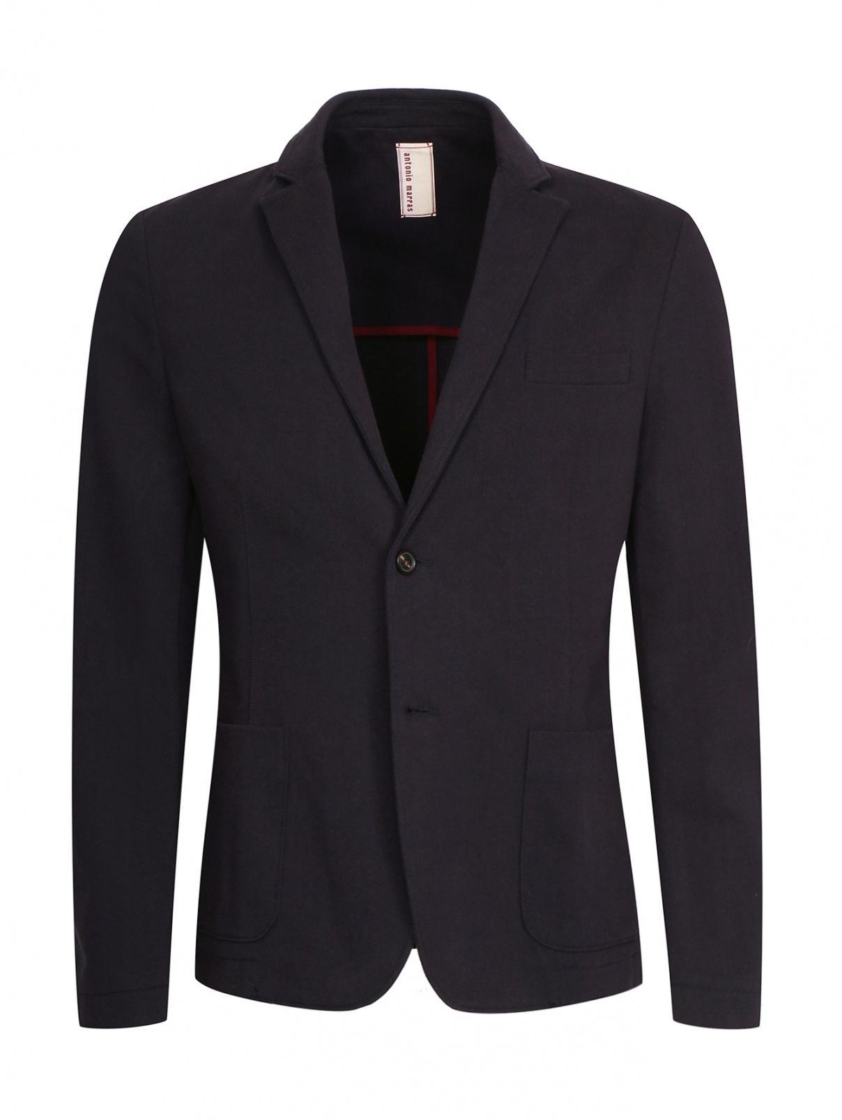 Пиджак однобортный из хлопка Antonio Marras  –  Общий вид