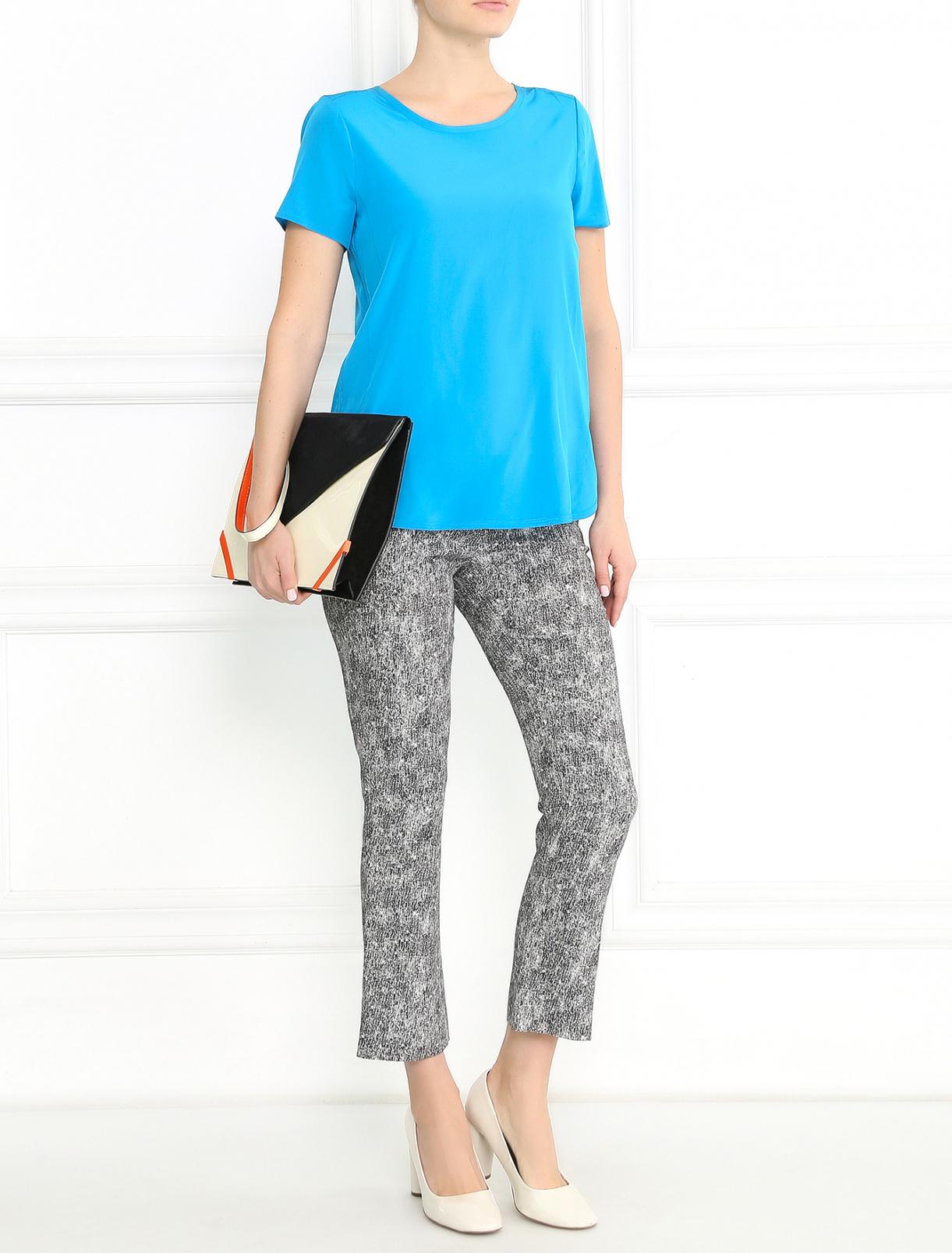 Узкие брюки с узором Sportmax  –  Модель Общий вид