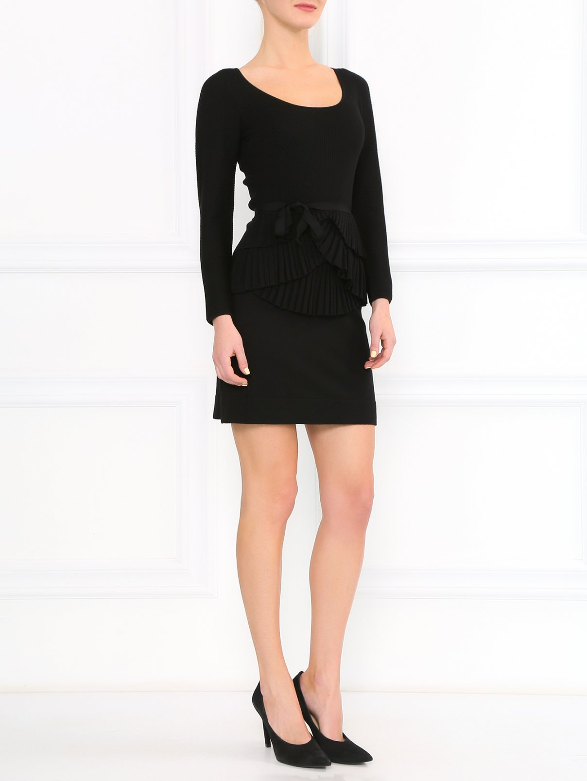 Платье из шерсти Paule Ka  –  Модель Общий вид