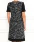 Платье-мини из шерсти с короткими рукавами Alberta Ferretti  –  Модель Верх-Низ1