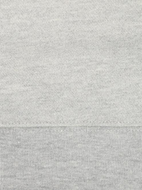 Свитшот из хлопка с принтом - Деталь1