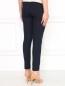 Узкие укороченные брюки из смешанной шерсти Alberta Ferretti  –  Модель Верх-Низ1