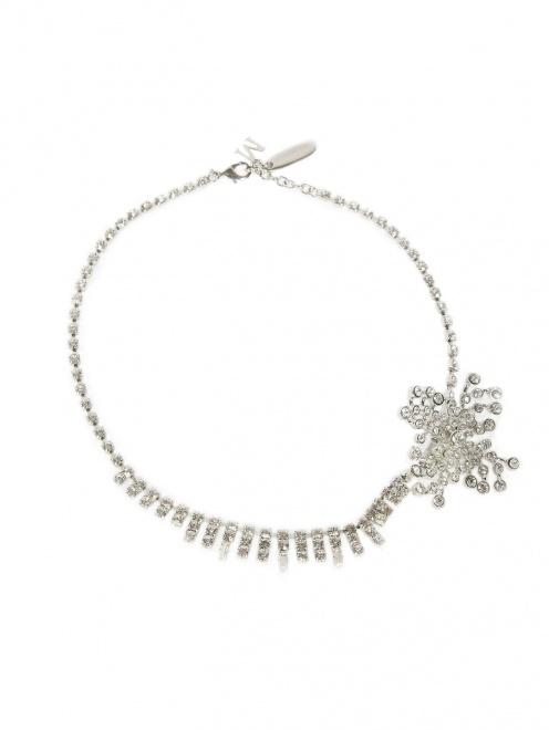 Ожерелье из кристаллов с отстегивающейся брошью - Общий вид