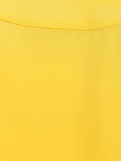 Туника из шелка с декоративной отделкой - Деталь