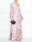 Платье-макси с цветочным узором Max Mara  –  МодельОбщийВид