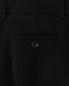 Брюки прямого кроя из шерсти Moschino Cheap&Chic  –  Деталь