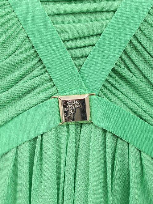Платье-макси с декором - Деталь