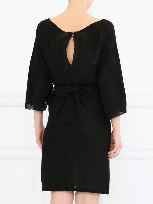 Платье-мини с рукавами 3/4 - Модель Верх-Низ1
