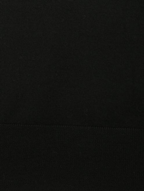 Водолазка из шерсти, с разрезами - Деталь