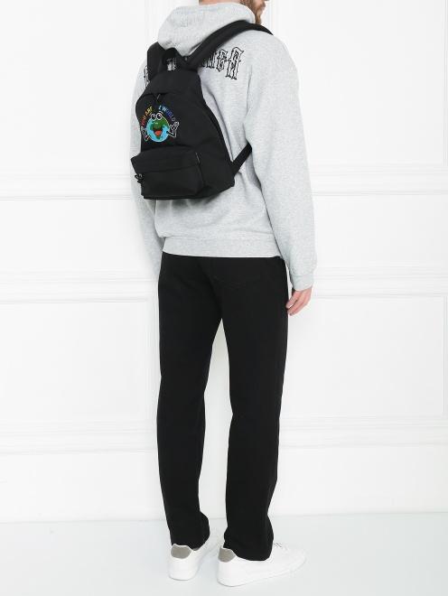 Рюкзак с узором - Общий вид