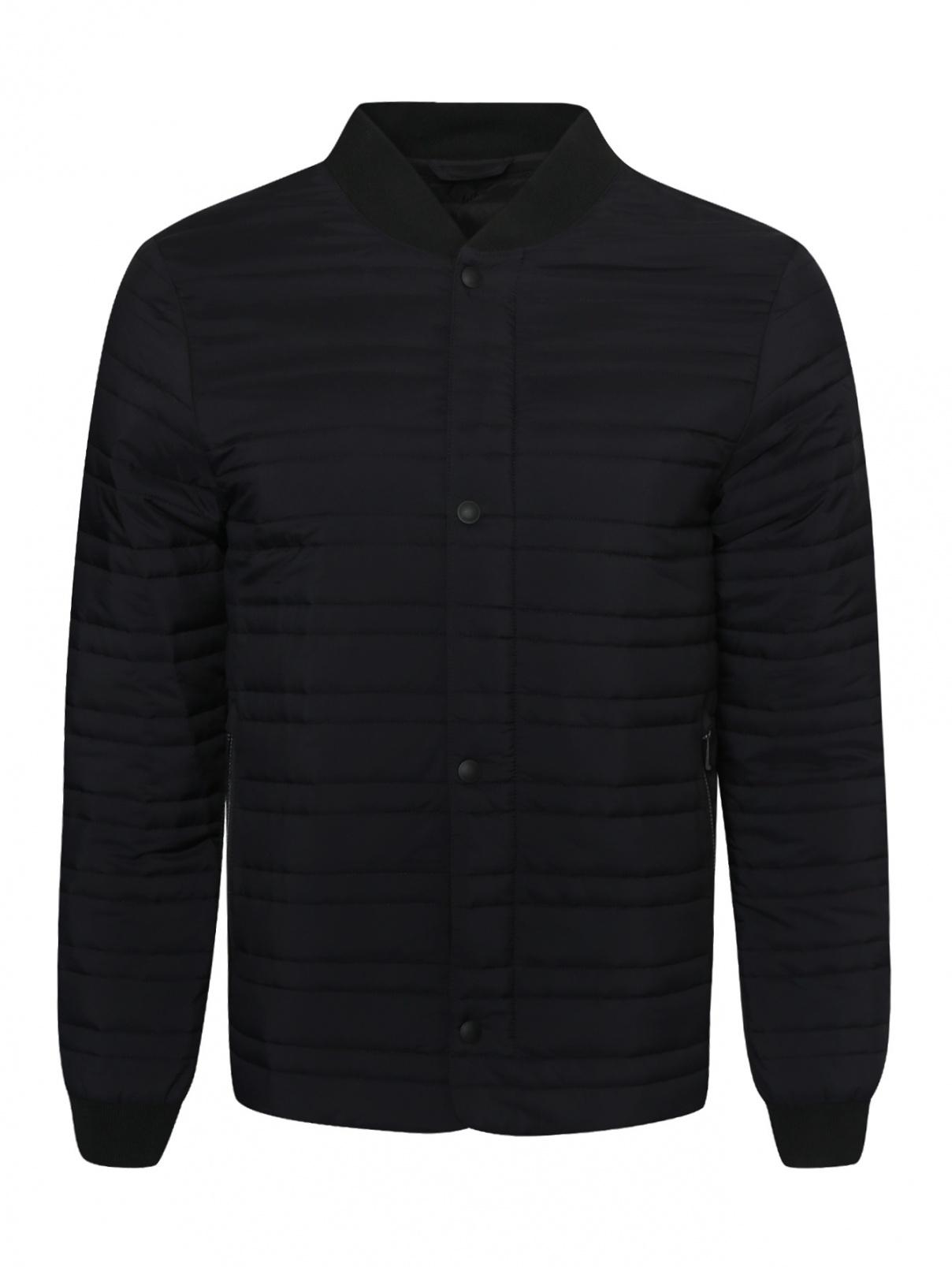 Куртка стеганая на молнии Ermenegildo Zegna  –  Общий вид