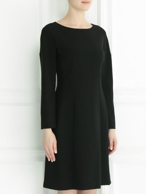 Платье с длинным рукавом - Модель Верх-Низ