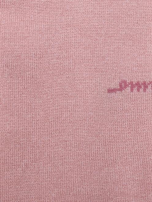 Носки шелковые с логотипом  - Деталь