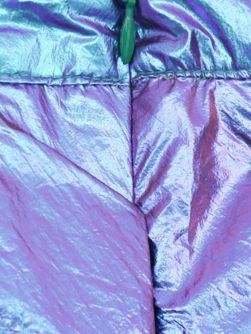 Юбка миди с покрытием металлик - Деталь1