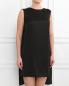 Платье-мини свободного кроя с вырезом на спине Руж  –  Модель Верх-Низ