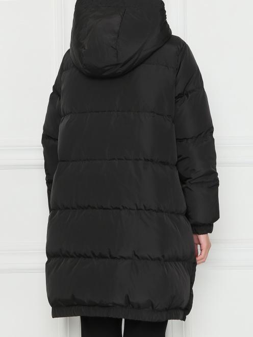Стеганая куртка оверсайз - МодельВерхНиз1