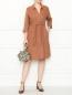 Платье из льна с рукавами 3/4 Marina Rinaldi  –  МодельОбщийВид
