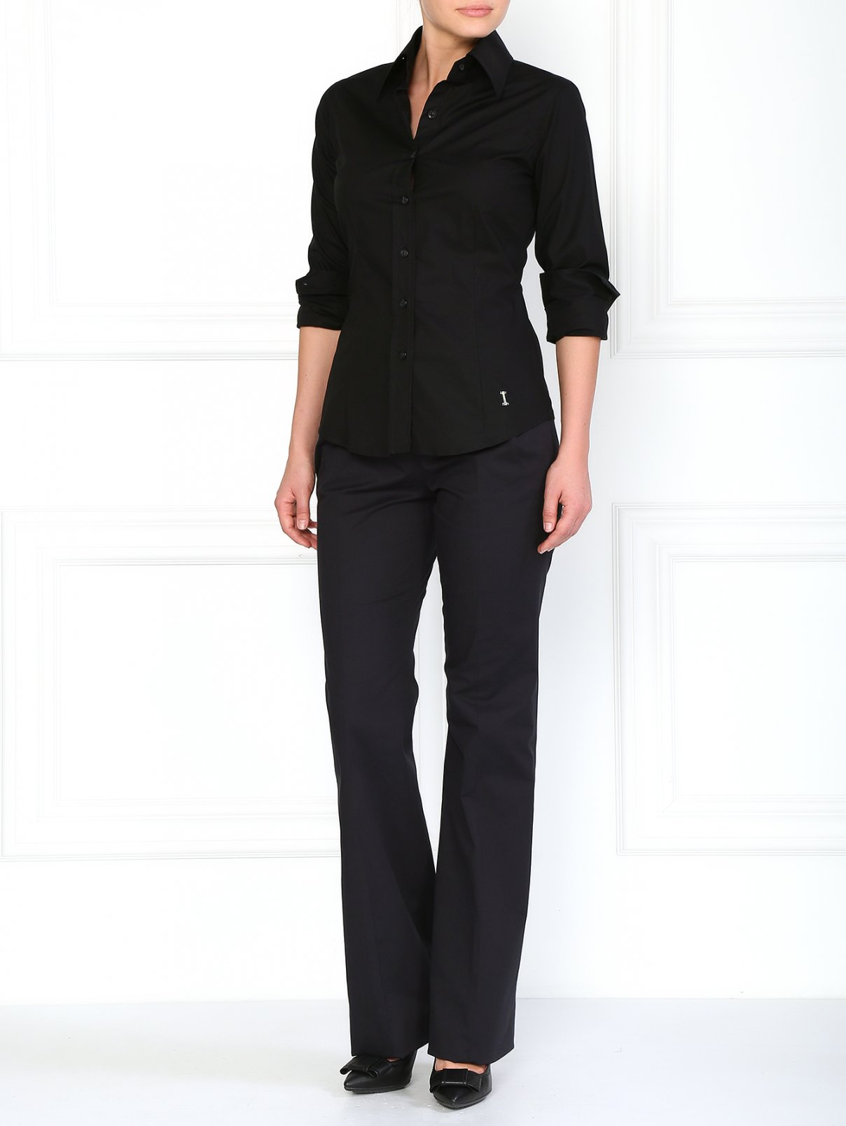 Классические брюки с боковыми карманами Jil Sander  –  Модель Общий вид