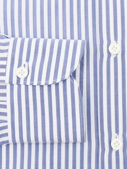 Рубашка из хлопка в полоску - Деталь1