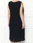 Платье из кружева с декоративной аппликацией Marina Rinaldi  –  МодельВерхНиз1