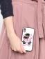 Чехол для IPhone Xs с принтом Moschino  –  МодельВерхНиз