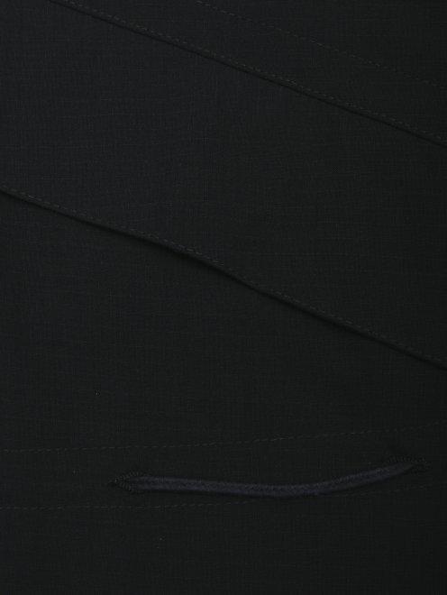 Плащ из шерсти - Деталь