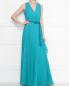 Плиссированное платье-макси без рукавов Max Mara  –  МодельОбщийВид