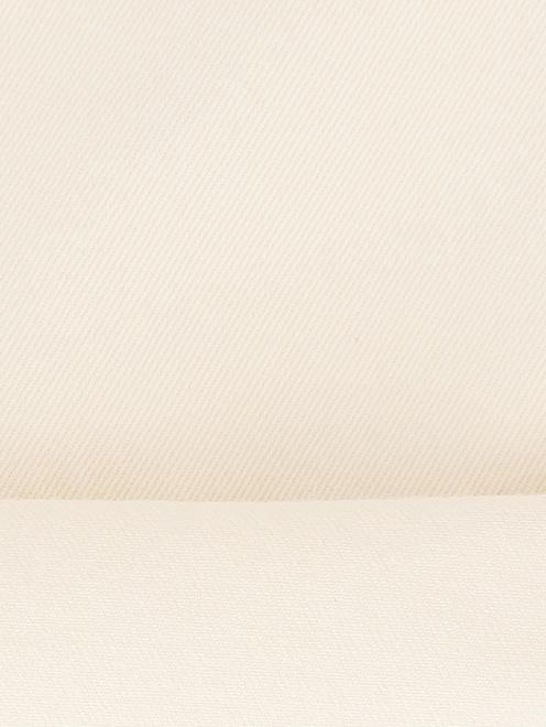 Джинсы из светлого денима с контрастной отделкой - Деталь2