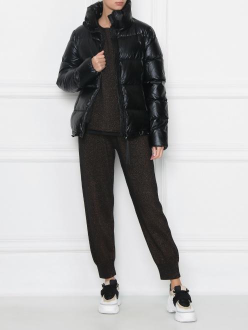 Куртка стеганая на молнии - Общий вид