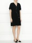 Платье свободного кроя с декоративной отделкой Moschino Boutique  –  МодельОбщийВид