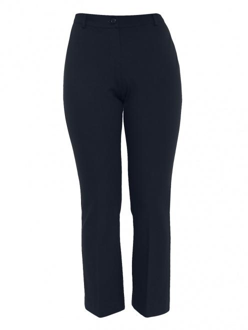 Укороченные брюки из трикотажа - Общий вид