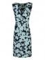 Платье с цветочным узором Persona by Marina Rinaldi  –  Общий вид