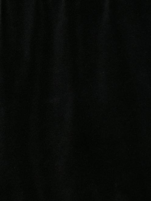 Шорты бархатные на резинке - Деталь1