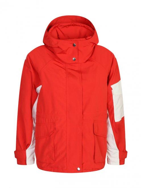 Куртка с капюшоном на молнии - Общий вид