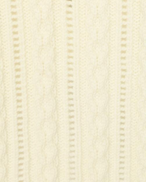 Джемпер из смешанной шерсти крупной вязки - Деталь1