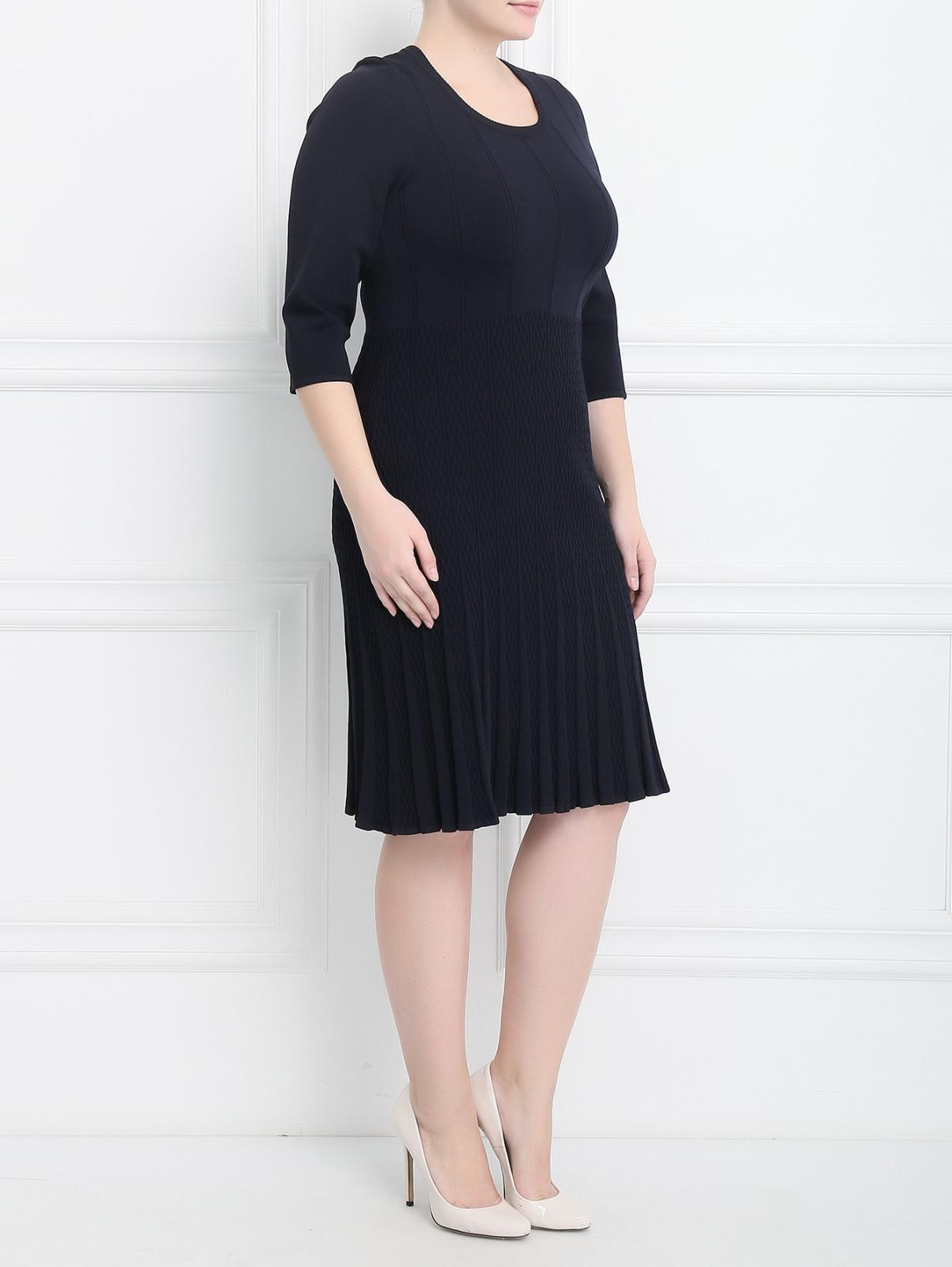 Платье-мини с рукавом 3/4 Marina Rinaldi  –  Модель Общий вид