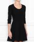 Платье-мини с коротким рукавом Moschino Boutique  –  МодельВерхНиз